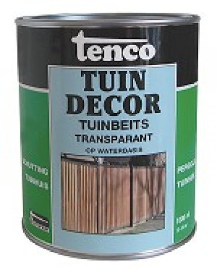 Tenco tuindecor transparant antraciet 2.5L