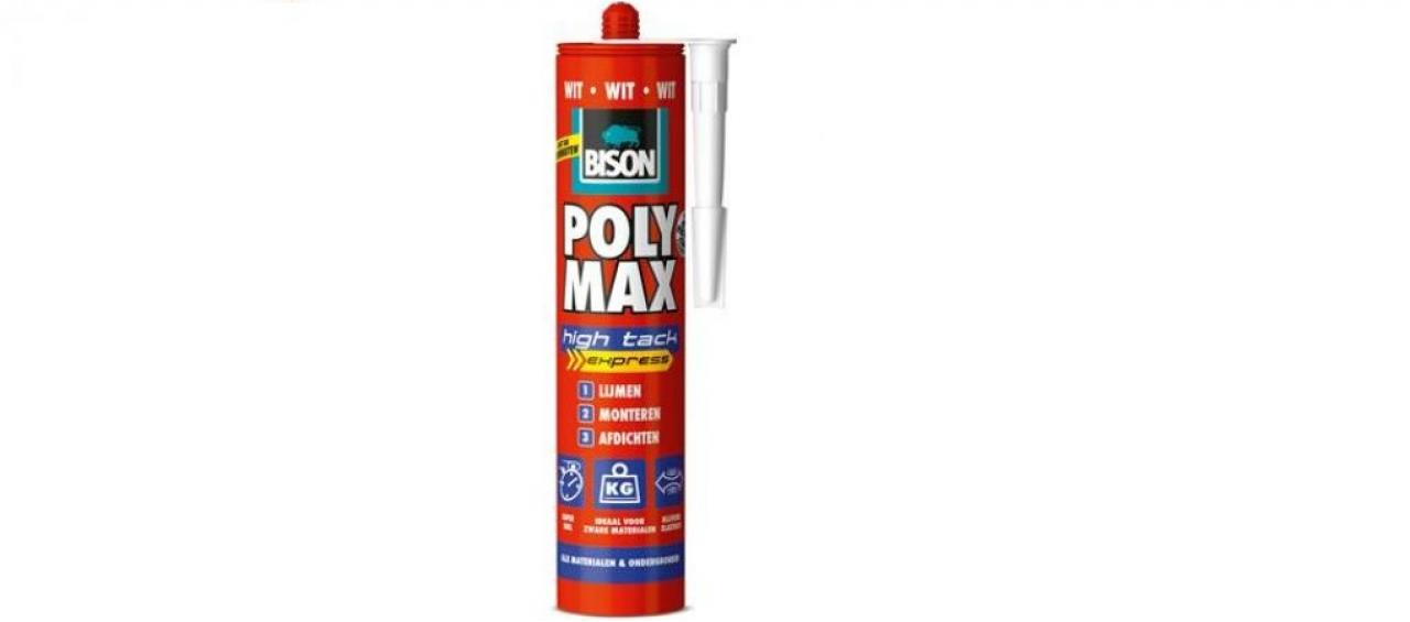 Bison Polymax Hich tack Express Wit 300ml